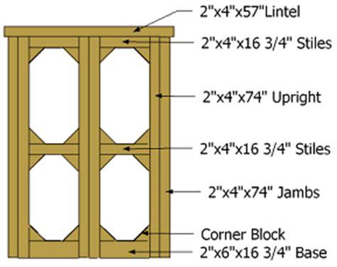 Shed Door Parts by Civil Engineering Doors