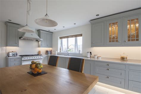 Light Grey Kitchen Light Grey Shaker Kitchen Design By Herbert William