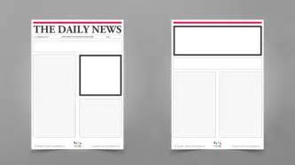 newpaper template blank newspaper templates