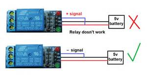 arduino how can run the relay module electrical