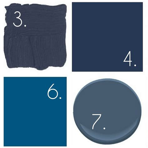 top paint picks for navy blue walls burger