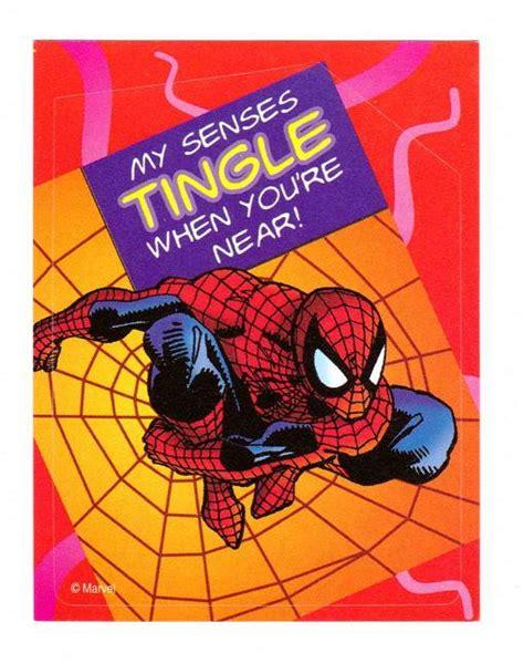 marvel valentines day cards marvel collectibles 97 spider valentines spider