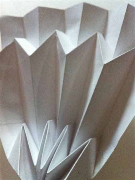 Paper Folding Work - paper architecture part 1 on behance