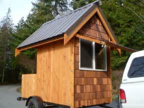 Tiny Cabin On Wheels by Relaxshacks Com Eli Curtis Tiny Cabin On Wheels A Micro