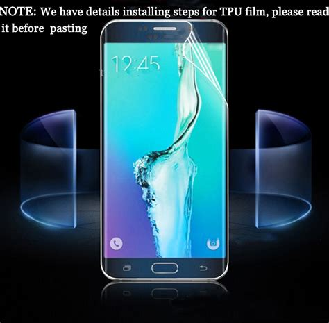 Protector Samsung Galaxy S 6 Edge for samsung galaxy s6 edge curved coverage 3d screen