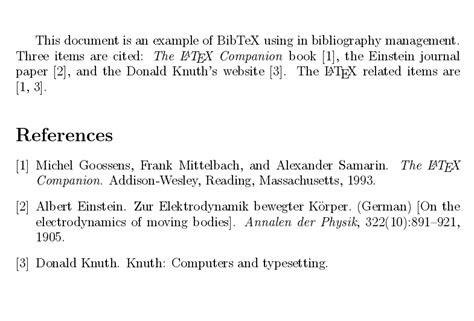 reference book bibtex bibliography management with bibtex sharelatex