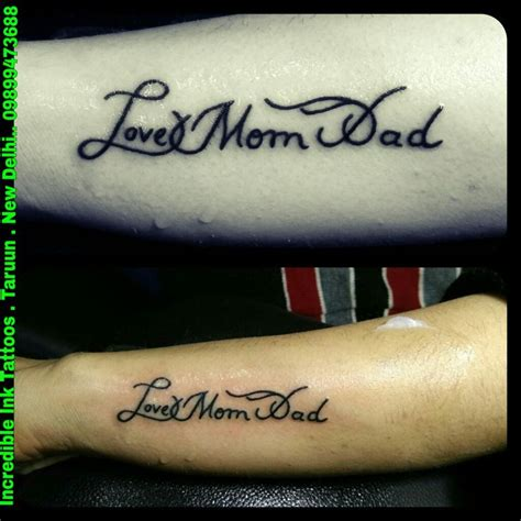 tattoo love dad 25 best ideas about mom dad tattoos on pinterest dad