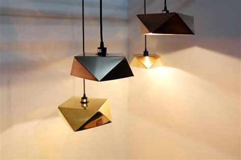 Origami Light - origami light by valo nobue kamahara shaped by folds