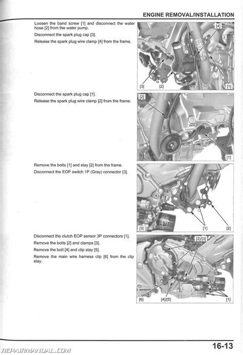 2012 2015 honda nc700x xd service manual repairmanual