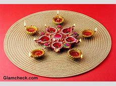 Diwali Decoration Ideas Rose Petals And Candles Ideas