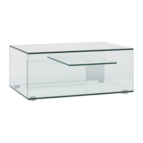 Table Basse Transparente But by Gem Tables Basses Transparent Verre M 233 Tal Habitat