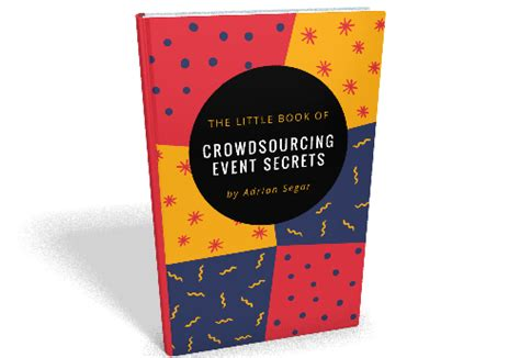 event design books the little book of event crowdsourcing secrets