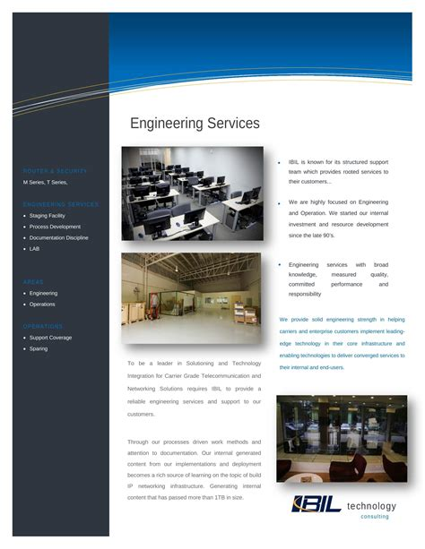 brochure pdf template service brochures pdf templates