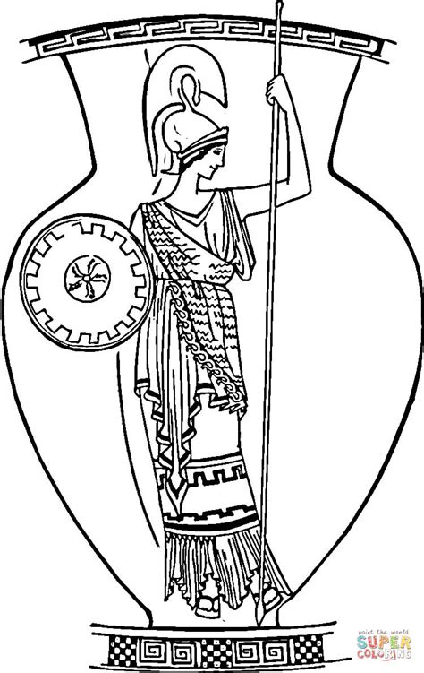 greek vases coloring page coloriage vase de l antiquit 233 coloriages 224 imprimer