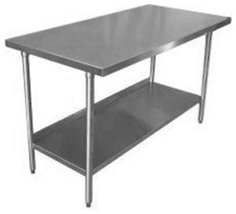 stainless steel kitchen work table island 18 gauge stainless steel commercial work table