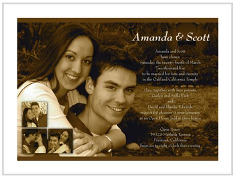 Wedding Invitation With Photo by Top 5 Photo Wedding Invitations To Set The Mood For Your