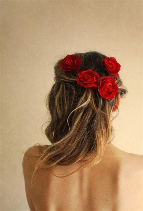 attach hair piece for contest flower head piece long hair long hairstyles how to