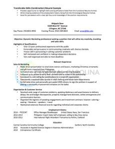 sle of combination resume pdf combination resume definition format layout 117 exles