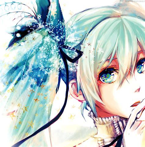 Headphone Miku Ex anime illustration we it anime vocaloid