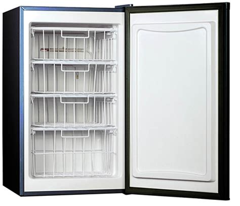 small freezer for room large capacity small space compact freezer apartment therapy