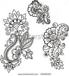 henna design templates henna stock vectors vector clip