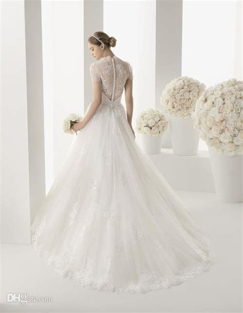 Self Design Wedding Dresses by White Wedding Dress With Self Floral Design 2049896