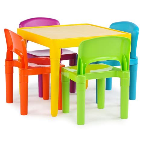 fisher price table and chair set tot tutors playtime 5 vibrant colors table and