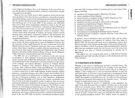 thesis in translation studies what are some interesting topics for a research in