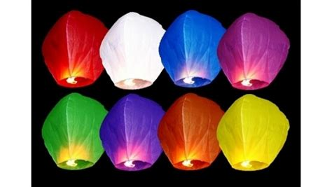 lanterna cinese volante 1 lanterna cinese volante colori assortiti