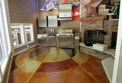 Concrete Flooring Finishing   Styles, Colors, and Options