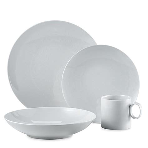 dishes bed bath and beyond buy rosenthal thomas loft 16 piece dinnerware set in white