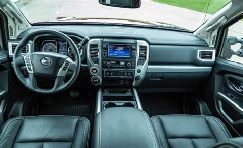 nissan titan interior 2017 2017 nissan titan pro 4x facelift specs interior 2018