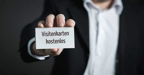 Visitenkarten Programm by Visitenkarten Kostenlos Gestalten Drucken Freeware De