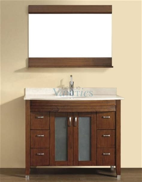 Bathroom Vanity Tops 42 Inches by 42 Inch Single Sink Bathroom Vanity With Choice Of Top In Classic Cherry Uvabalcc42