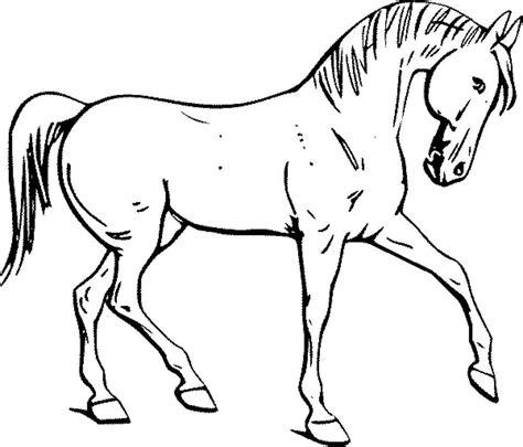 easy pony coloring pages pferd ausmalbilder zum ausmalen malvorlagen