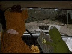 mirror movie clip fozzie bear kermit the frog fozzie bear gifs find make share gfycat gifs