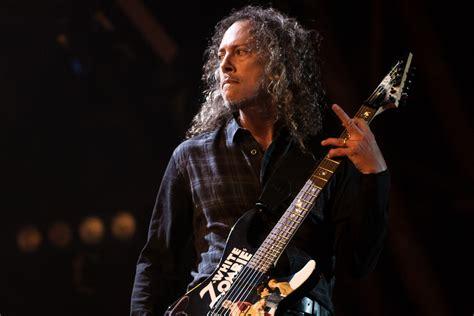 Kirk Hammett by Kirk Hammett Metallica S New Album Is 25 Percent Done