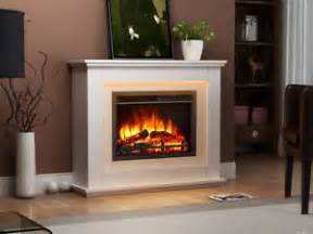 endeavour fires castleton electric fireplace in a light