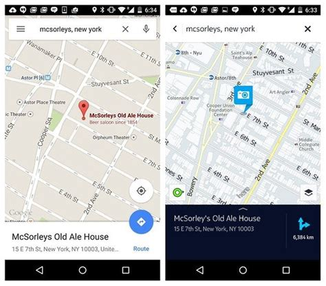 maps for android maps vs nokia here two great android map apps compared androidpit