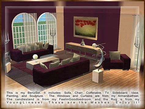 Sims 2 Living Room by Emysims2 Free Reflexsims Part 1 Modern Livingroom The Sims 2