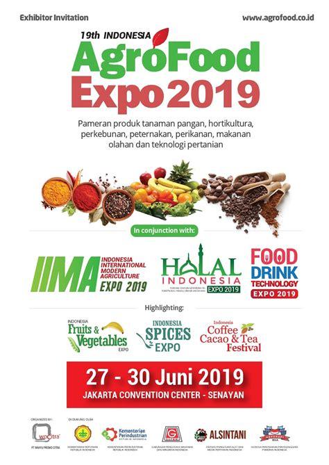 indonesia agro food expo  jadwal event info