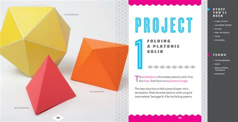 Cool Paper Folding Tricks - cool paper folding creative activities that make math