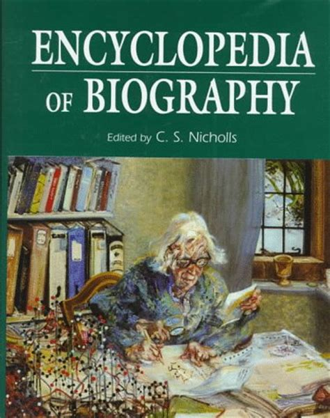 biography encyclopedia book books and general reference biographical information