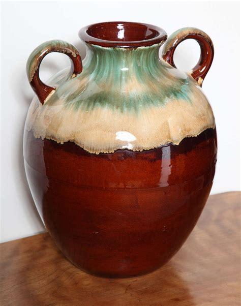 roseville two handle vase image 3