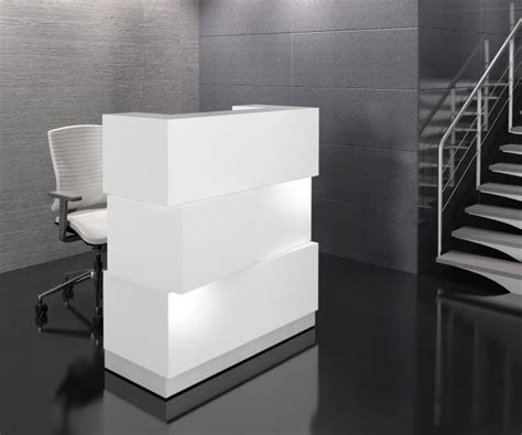 lade in cartongesso artificial marble zen reception desk with drawers the