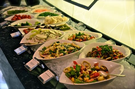 Hotel Armani salad bar at shangri la iftar buffet dubaicravings com