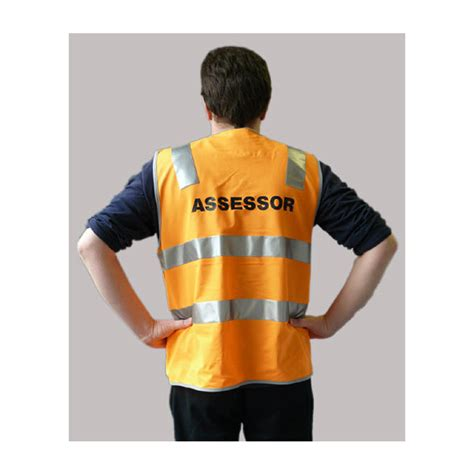 Appraisal Records Hi Vis Day Assessor Vests