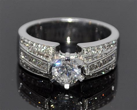 best wide band wedding and engagement rings