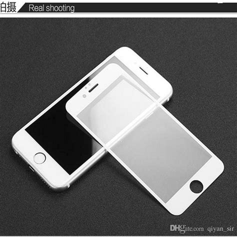 Tempered Glass 3d Iphone 4 5 6 6 for iphone 6 carbon fiber 3d curved edge screen protector