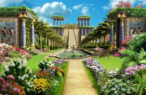 imagenes de los jardines de babilonia jardines colgantes de babilonia el arca de los dioses